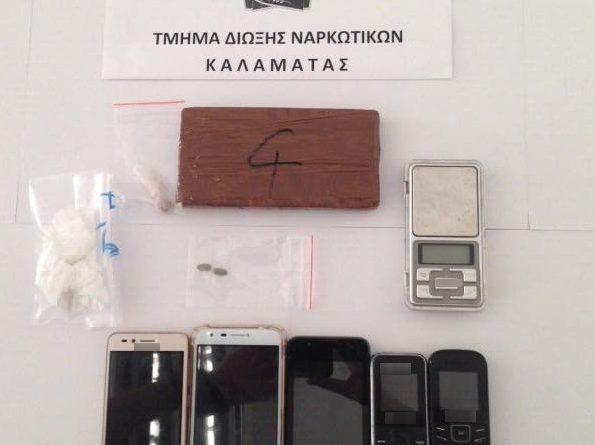 Συλλήψεις ατόμων μετά από εκτεταμένες έρευνες από την αστυνομία της Καλαμάτας.