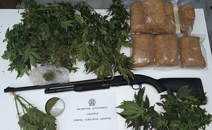 Συνελήφθη 67χρονος σε τοπική κοινότητα του Δήμου Μονεμβάσιας Λακωνίας.