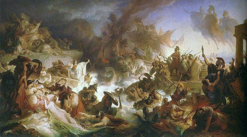 Σαν σήμερα 22 Σεπτεμβρίου – στη Ναυμαχία της Σαλαμίνας ο ελληνικός στόλος με επικεφαλής τον Θεμιστοκλή πετυχαίνει μια ιστορική νίκη απέναντι στον στόλο των Περσών