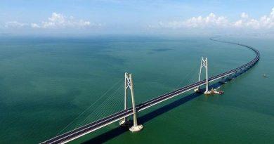 Το ξέρατε ότι: η μεγαλύτερη θαλάσσια γέφυρα στον κόσμο έχει μήκος 55 χιλιόμετρα και βρίσκεται στην Κίνα;
