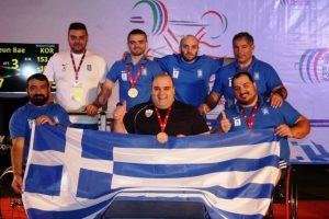 Ο Χρυσός παραολυμπιονίκης Παύλος Μάμαλος στην Σπάρτη.