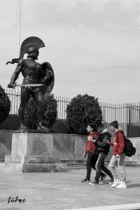 Walking in Sparta