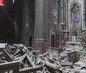 Ισχυροί σεισμοί συγκλονίσαν την κεντρική Ιταλία.