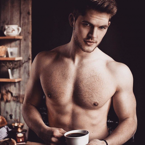 Πρωινό για άνδρες.