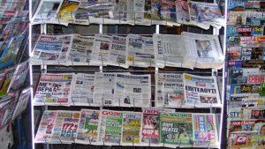 Αθλητικές Κυριακάτικες εφημερίδες 12-2-2017