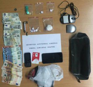 Συλλήψεις για κοκαΐνη στην Σπάρτη.