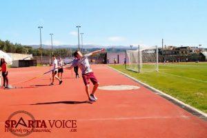 Αγώνες κλασσικού αθλητισμού Γυμνασίων-Λυκείων Λακωνίας.