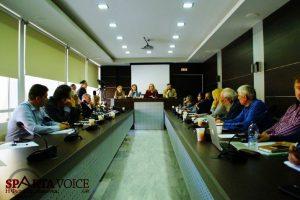 Ενημέρωση δόθηκε για το νέο αρχαιολογικό μουσείο Σπάρτης στο Διοικητήριο Π.Ε.Λακωνίας.