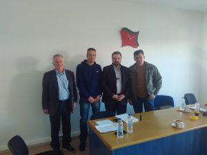 Συνάντηση του κ.Αραχωβίτη με αντιπροσωπεία της Ένωσης Αστυνομικών υπαλλήλων Λακωνίας.
