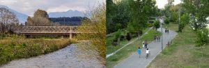 Ευρώτας και Πηνειός 2 Ιστορικοί ποταμοί αλλά η διαφορά που έχουν σήμερα τεράστια.