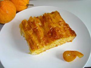 Νηστίσιμη πορτοκαλόπιτα από την Σπάρτη.