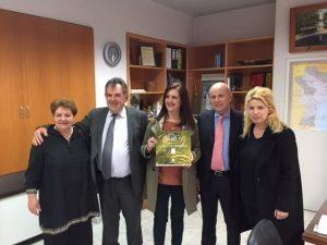 Η εξωστρέφεια της Πελοποννήσου στο επίκεντρο της συνάντησης της Αντιπεριφερειάρχη κας Νικολάκου με τον Ιταλό Πρέσβη