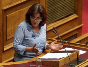 """Η σκληρή απάντηση της Υπουργού κ.Θ.Φωτίου στον κ.Π.Τατούλη. """"ουδέποτε είχε υποβάλει ανάλογη πρόταση στο Υπουργείο."""""""