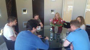 Επίσκεψη Ρώσων Δημοσιογράφων στη Λακωνία για το πρόγραμμα Travel agents.
