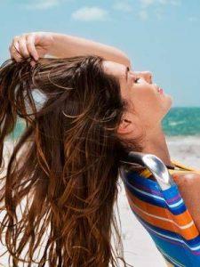 Προστασία των μαλλιών σας από τον ήλιο.