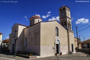 Πανηγυρικός εορτασμός στον Ιερό Ναό Αγίας Τριάδος Σελλασίας. Παρόντος του Σεβασμιωτάτου κ.κ. Ευσταθίου