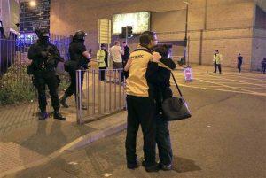 Τρομοκρατική επίθεση στο Manchester Arena της Αγγλίας.