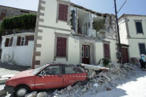 Νέος σεισμός στην Λέσβο 5,2 Ρίχτερ.