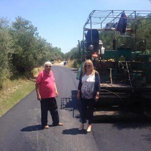 Εργασίες αποκατάστασης δρόμου Αγ. Ιωάννης – Μυστρά.