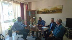 Επίσκεψη Αν. Υπουργού Εργασίας, Κοινωνικής Ασφάλισης και Κοινωνικής Αλληλεγγύης.