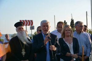 Εγκαίνια και παράδοση του δρόμου Νεάπολη – Μονεμβασία.