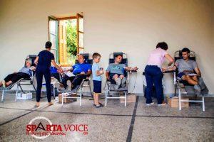 Με επιτυχία η 4η εθελοντική αιμοδοσία στην Λογγάστρα.
