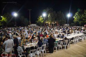 Η πολιτιστική εκδήλωση στον Ά. Δημήτρη Ζάρακα.