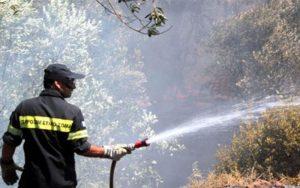 Υψηλός κίνδυνος πυρκαγιάς για τους Δήμους Μονεμβασίας , Ευρώτα και Αν. Μάνης.