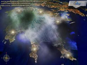 Ο Καιρός αναλυτικά για την Πελοπόννησο 28-9-2017