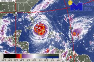Καιρός. Εκ νέου ενίσχυση του τυφώνα Ίρμα.