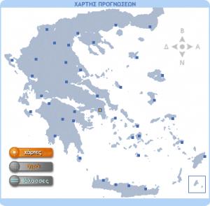 Γενική πρόγνωση καιρού 21-9-2017 & Περιοχές Πελοποννήσου 21/22-9-2017.