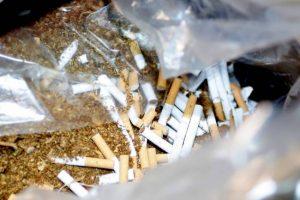 Εξάρθρωση εγκληματικής ομάδας λαθραίων καπνικών προϊόντων.