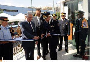 Εγκαίνια των Πληροφοριακών Κέντρων της Ελληνικής Αστυνομίας και του Πυροσβεστικού Σώματος στην 82η Διεθνή Έκθεση Θεσσαλονίκης.