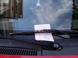 Κλήσεις για παράνομο παρκάρισμα στην Σπάρτη.