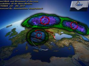 Αλλαγή καιρού , τι προβλέπουν τα Διεθνή προγνωστικά μοντέλα για την Ελλάδα.