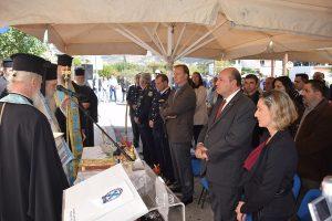 Τελετή Αγιασμού πραγματοποιήθηκε στις νέες κτιριακές εγκαταστάσεις του Αστυνομικού Τμήματος Βοιών.