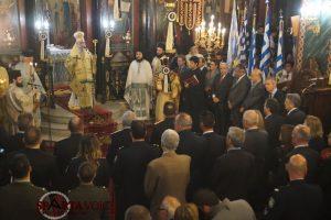 Με Λαμπρότητα ο Εορτασμός για την επέτειο του ΌΧΙ στην Ιερά Μητρόπολη Σπάρτης.
