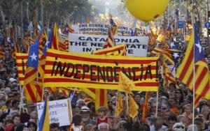 Ένα βήμα πριν την ανεξαρτησία της η Καταλονία.