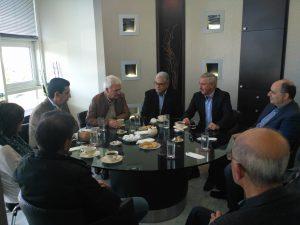 Συνάντηση στο Γραφείο Αντιπεριφερειάρχη Λακωνίας με τον υποψήφιο Επικεφαλή για την Κεντροαριστερά κ. Ιωάννη Μανιάτη.