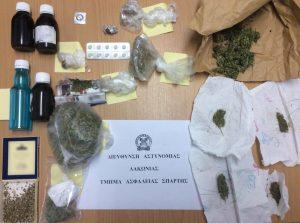 Συνελήφθη 45χρονος για ναρκωτικά στη Λακωνία.