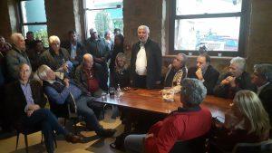 Συνάντηση Περιφερειάρχη Πελοποννήσου με πολίτες Δήμου Ευρώτα για την αντιμετώπιση των καταστροφών από τα ακραία καιρικά φαινόμενα.