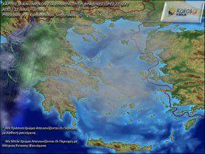 Καιρός. Έντονα φαινόμενα σε αρκετές περιοχές της Ελλάδος (7/8-11-2017)