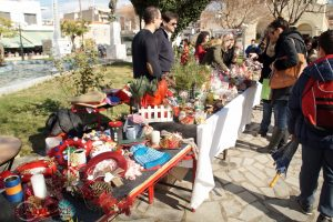 Το Χριστουγεννιάτικο Bazaar του 4ου Δημοτικού Σχολείου Σπάρτης.