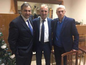 Επίσκεψη του προέδρου της ΕΣΕΕ κ. Βασίλη Κορκίδη στη Σπάρτη Λακωνίας