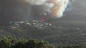 Κήρυξη πυρόπληκτης περιοχής η Μάνη από την Π.Ε Λακωνίας.