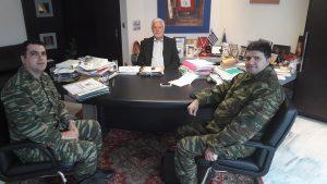 Εποικοδομητικές συσκέψεις του Περιφερειάρχη Πελοποννήσου με τον Διοικητή του Γ.Ν.Σπάρτης & Διοικητή του ΚΕΕΜ .