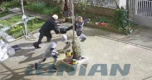 Δείτε το βίντεο από την επίθεση της ηλικιωμένης στις Αμύκλες Σπάρτης.