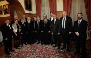 Επίσημο δείπνο στους Περιφερειάρχες παρέθεσε ο Αρχιεπίσκοπος.