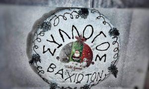 Η ετήσια κοπή πίτας στο Βαχό Μάνης Λακωνίας