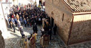 Κυριακή της Ορθοδοξίας στο μοναστήρι των Αγ.Σαράντα στη Σπάρτη
